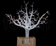 ARBRE LUMINEUX - 5000 LED blanches fixes - H=5,50m - 220V