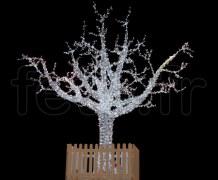 ARBRE LUMINEUX - 5000 LED blanchesfixes- H=5,50m - 220V