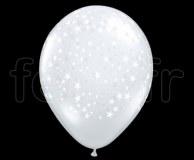 Ballon - Latex - Cristal - Déco - 40cm ETOILE-TRANSPARENT