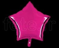 Ballon - Mylar - Etoile - Brillant - Uni - 45cm FUSHIA
