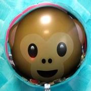 Fabrication d'un Ballon MYLAR en Aluminium - ROND - 45cm - Imprimé - 2_Faces