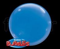 Ballon - Bubble - Unis - Sphérique - 38cm BLEU