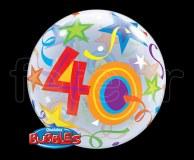 Ballon - Bubble - Fantaisy - Sphérique - 56cm 40