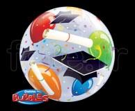 Ballon - Bubble - Fantaisy - Sphérique - 56cm FELICITATION
