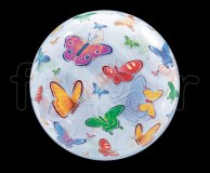 Ballon - Bubble - Fantaisy - Sphérique - 56cm PAPILLONS