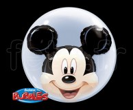Ballon - Bubble - Double - Licence - 61cm MICKEY