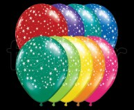 Ballon - Latex - Déco - Mat - 30cm ETOILES-ASSORTIS