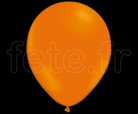 100 Ballons - Latex - Unis - FLUO - Ø30cm ORANGE