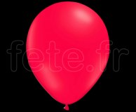 100 Ballons - Latex - Unis - FLUO - Ø30cm ROUGE