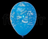 Ballon - Latex - Fantaisie - Ø30cm JOYEUX-ANNIVERSAIRE