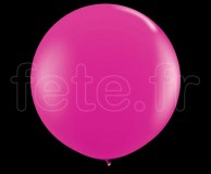Ballon - Latex - Unis - Nacré - 1m FUSHIA
