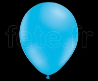 100 Ballons - Latex - Unis - Mat - Ø30cm CIEL