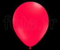 100 Ballons - Latex - Unis - Mat - Ø30cm FUSHIA