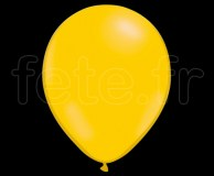 100 Ballons - Latex - Unis - Mat - Ø30cm JAUNE