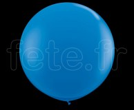 Ballon - Latex - Unis - Mat - Ø60cm BLEU