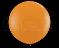 Ballon - Latex - Unis - Mat - Ø60cm ORANGE