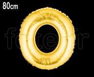 Ballon - Mylar_Or - Lettre - H 80cm O