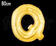 Ballon - Mylar_Or - Lettre - H 80cm Q