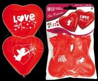 Ballon - Latex - Fantaisie - Ø30cm LOVE-(cœur)
