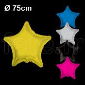 BALLON - MYLAR - ETOILE - 75cm