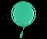 Ballon - Mylar - Rond - Brillant - Uni - 20cm EMERAUDE