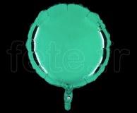 Ballon - Mylar - Rond - Brillant - Uni - 45cm EMERAUDE
