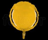 Ballon - Mylar - Rond - Brillant - Uni - 45cm OR