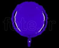 Ballon - Mylar - Rond - Brillant - Uni - 45cm VIOLET