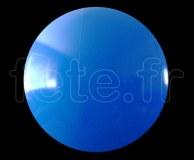 BALLON - CAPTIF - VINYLE (PVC) - Unis - SPHERE - ø 2m50 BLEU