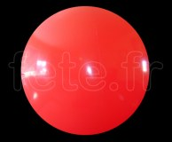 Ballon - Vinyle - Unis - Mat - 3.60m ROUGE