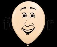 Ballon - Latex - Mat - Déco - 40cm VISAGE-HOMME