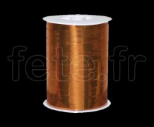 Bolduc - Metal - Uni - 250m x 1cm - ORANGE