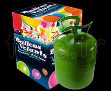 Bonbonne - Hélium - Jetable PM - 0.25m3