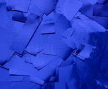 Confettis - Scene - Rectangle - Metal - Ø 55mm - BLEU