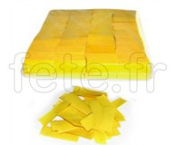 Confettis - Scene - Rectangle - Papier - Ø 55mm - JAUNE