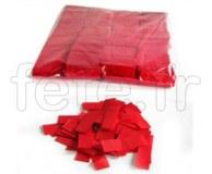 Confettis - Scene - Rectangle - Papier - Ø 55mm - ROUGE
