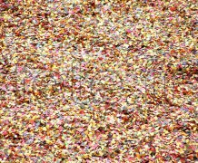 Confettis - Carnaval - Star - Papier - Ø 8mm - MULTICOLORE