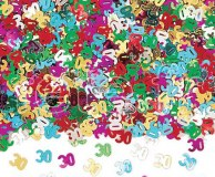 Confettis - Table - 30 - Ø 11mm - 14g MULTICOLORE