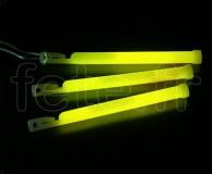 EASY-LIGHT - Batonnet - Fluo - Fermoir - 15cm X 11mm - JAUNE