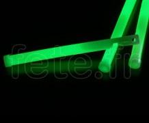 EASY-LIGHT - Batonnet - Fluo - Fermoir - 15cm X 11mm - VERT