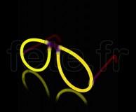 LUNETTE FLUO - Unicolore - 2 X 20cm X 5mm - JAUNE