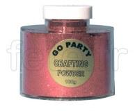 Paillette - Décoration - Table - Poudre - 100g ROUGE