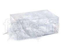 Plumes - Naturelles - Décoration - Table - 10/15cm - 30g BLANC