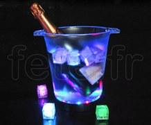 SEAU_à_CHAMPAGNE - Lumineux à 30 LED - Rainbow Système - Fixe / Clignotante - 4 Piles LR6 Non Fournies MULTICOLORE