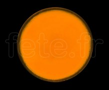 SPOT ROND - Fluo - Ø 47mm - Adhésif - ORANGE