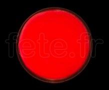 SPOT ROND - Fluo - Ø 47mm - Adhésif - ROUGE