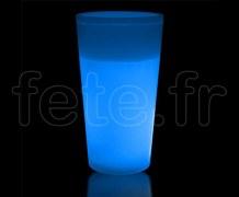 VERRE - Gobelet Fluo - 35cl - BLEU