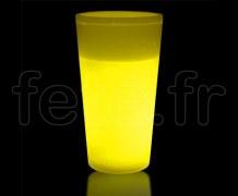 VERRE - Gobelet Fluo - 35cl - JAUNE