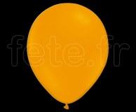 50 Ballons - Latex - Unis - Mat - Ø30cm MANDARINE