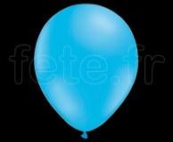 100 Ballons - Latex - Unis - Pastel - Ø30cm BLEU